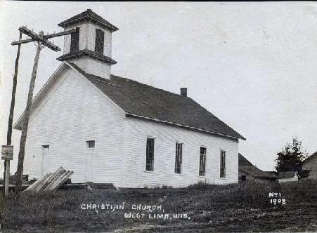 West Lima Christian Church 1908
