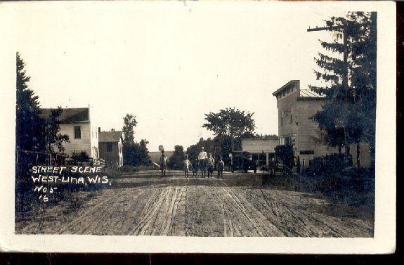 West Lima Street Scene 1916